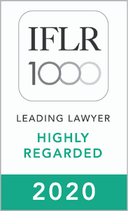 IFLR1000 Highly Regarded 2020